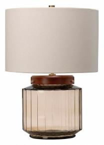 Настольная лампа декоративная Elstead Lighting Luga LUGA-TL-SMOKE