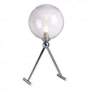 Настольная лампа Crystal Lux Fabricio LG1 Chrome/Transparente