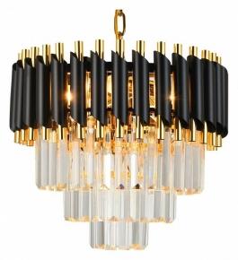 Подвесной светильник Natali Kovaltseva DARIAN DARIAN 76017/5C GOLD BLACK
