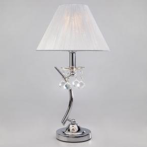 Настольная лампа Eurosvet 1087/1 хром/серебристый Strotskis