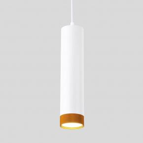 Подвесной светодиодный светильник Elektrostandard 50164/1 LED белый/золото 4690389144011
