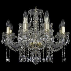 Подвесная люстра Bohemia Art Classic 11.12 11.12.8+4.195.Gd.Sp