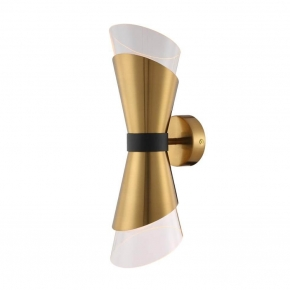 Бра Crystal Lux Gris AP2 Brass