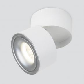 Светодиодный спот Elektrostandard DLR031 15W 4200K 3100 белый матовый/серебро 4690389152740