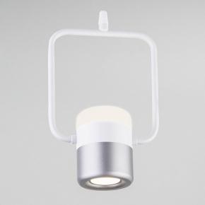 Подвесной светильник Eurosvet Oskar 50165/1 LED белый/серебро