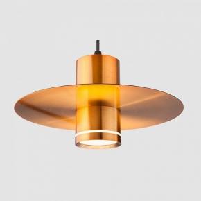 Подвесной светильник Eurosvet Disco 50155/1 LED бронза 9W