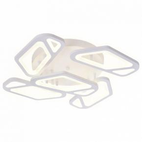 Накладной светильник Ambrella Original 5 FA587/5 WH белый 113W 590*590*120 (ПДУ РАДИО 2.4G)