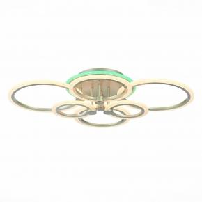Потолочная светодиодная люстра Evoluce Cerina SLE500592-06RGB