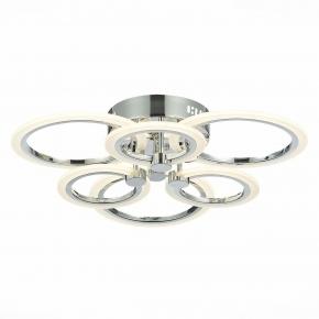 Потолочная светодиодная люстра Evoluce Cerina SLE500612-06