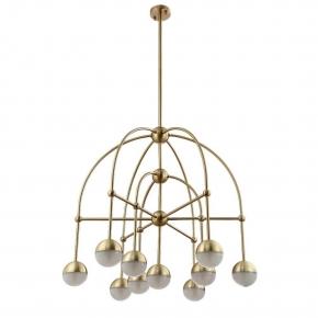 Подвесная люстра Crystal Lux Truena SP-PL6+3+1 Bronze