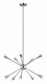 Подвесной светильник Feiss Jax QN-JAX10-PN