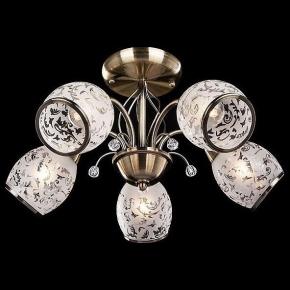 Потолочная люстра Eurosvet 30026/5 античная бронза