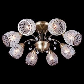 Потолочная люстра Eurosvet 30026/8 античная бронза