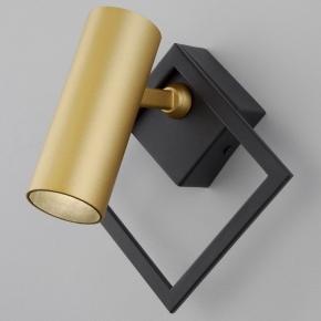 Светодиодный спот Eurosvet Turro 20091/1 LED черный/ золото
