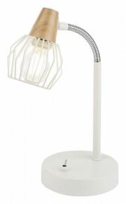 Настольная лампа офисная Rivoli Naturale T1 WT Б0038095