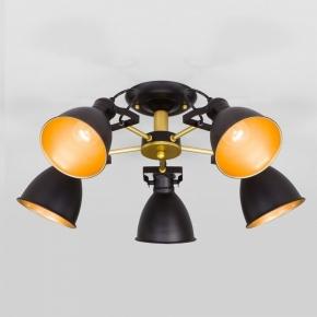 Потолочная люстра Eurosvet Denley 70112/5 черный