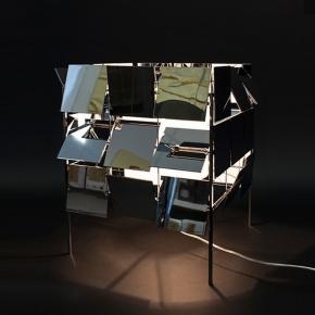 Интерьерная настольная лампа Matrix art_001053