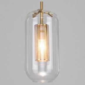 Подвесной светильник Eurosvet Hugo 50201/1 бронза