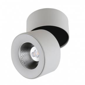 Точечный светильник Topper DLR021 9W 4200K Черный жемчуг