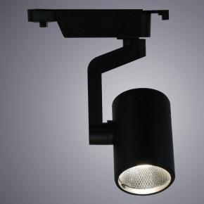 Трековый светодиодный светильник Arte Lamp Traccia A2311PL-1BK