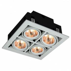 Точечный встраиваемый светильник Arte Lamp Cardani A5930PL-4WH