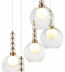 Подвесной светильник 31100 31101/S black+gold