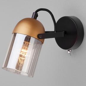 Спот Eurosvet Mars 20122/1 черный/золото