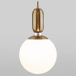 Подвесной светильник Eurosvet Bubble 50197/1 латунь