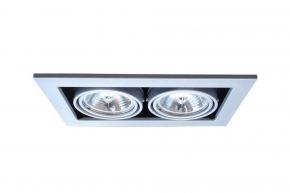 Точечный встраиваемый светильник Arte Lamp Cardani A5930PL-2SI