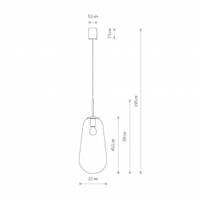 Накладной светильник Vitaluce V4640-7/1PL
