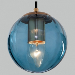 Подвесной светильник Eurosvet Juno 50207/1 синий