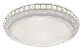 Потолочный светодиодный светильник Ambrella light Orbital Crystal F91 72W D500