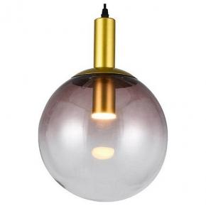 Подвесной светодиодный светильник Toplight Gwendolyn TL1217H-01GD