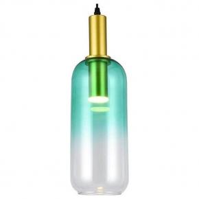Подвесной светодиодный светильник Toplight Gwendolyn TL1217H-01GR