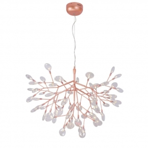 Подвесной светильник Crystal Lux Evita SP63 Copper/Transparent