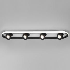 Светодиодный спот Eurosvet Slam 20123/4 LED белый / черный