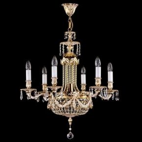 Подвесная люстра Artglass Fountain White Gold CE