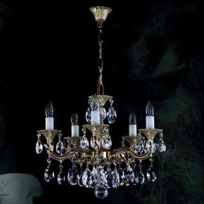 Подвесная люстра Artglass Jarmila V. White Gold CE