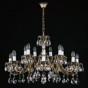 Подвесная люстра Artglass VIktorie Brass Antique CE