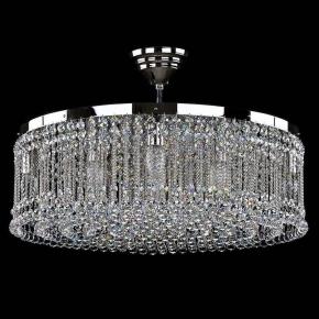 Потолочная люстра Artglass Persida Nickel CE
