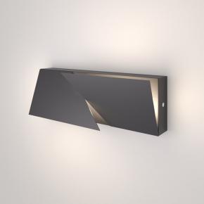 Бра Snip 40106/LED тёмно-серый
