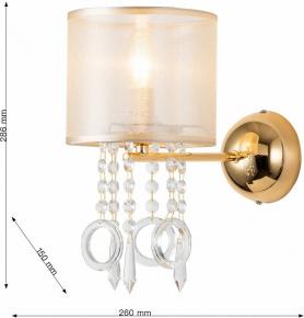 Подвесной светильник  MD.1714-1-P BK