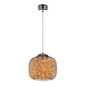 Подвесной светодиодный светильник Lumina Deco Daisy LDP 6823-300 CHR+AMB
