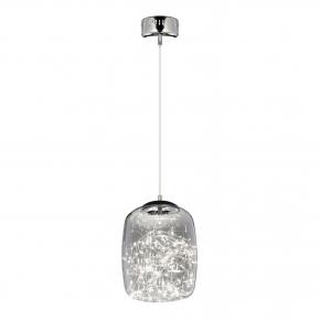 Подвесной светодиодный светильник Lumina Deco Daisy LDP 6824-220 CHR+GY