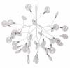 Подвесная люстра Crystal Lux Evita SP36 White/Transparent