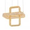 Подвесной светодиодный светильник Newport 8231+1/S gold М0064643