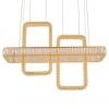 Подвесной светодиодный светильник Newport 8232+2/S gold М0064644