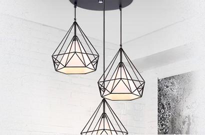 Подвесные и потолочные светильники в стиле лофт