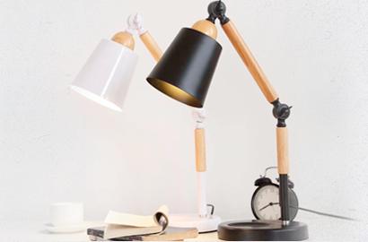 Декоративные настольные лампы в стиле лофт